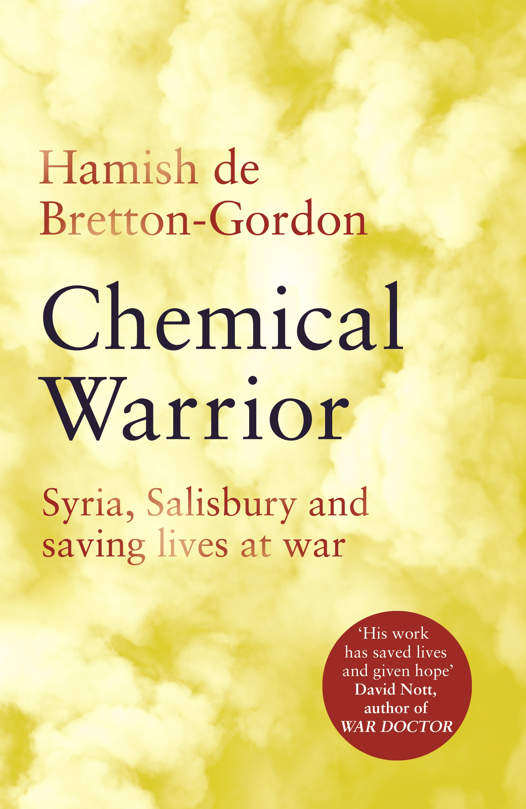 Chemical Warrior - Book Cover